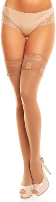 GLAMORY Women's Glamory Micro 60 60 DEN Matt Fine Hold-Up Stockings
