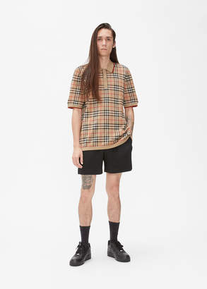 Burberry Westbrook Archive Check Polo