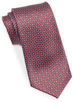 Black Brown 1826 Narrow Silk Tie