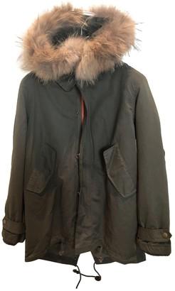 Green Cotton Non Signé / Unsigned Non Signe / Unsigned Coats