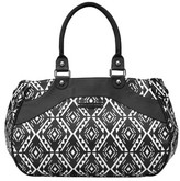 Petunia Pickle Bottom Infant Glazed 'Wistful' Weekend Tote - Black