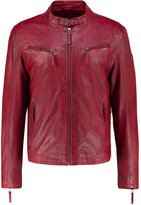 Gipsy Coby Leather Jacket Rot