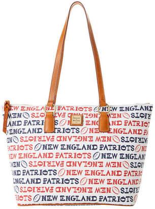 Dooney & Bourke New England Patriots Doodle Wren Zip Tote