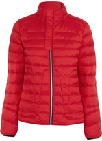 Perfect Moment - Mini Duvet Quilted Down Ski Jacket - Red
