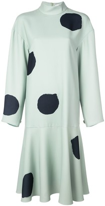 Tibi Large Polka Dot Dress