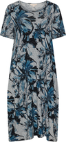 Isolde Roth Plus Size Printed balloon dress