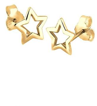 Elli Women's 925 Sterling Silver Xilion Cut Earrings
