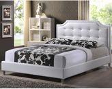 Bed Bath & Beyond Carlotta Designer Bed with Upholstered Headboard