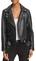 Nobody Biker Leather Jacket