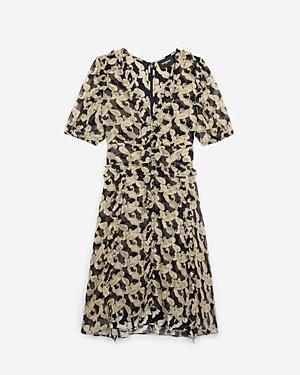 The Kooples Volute Paisley Print Dress