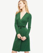 Ann Taylor Petite Always On Wrap Dress