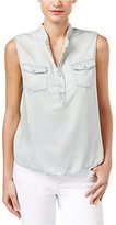 Calvin Klein Jeans Women's Tencel Sleevless Shirt