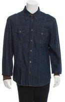 Dolce & Gabbana Denim Button-Up Shirt