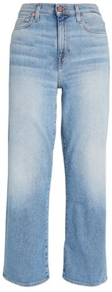 7 For All Mankind Alexa Crop Straight Jeans