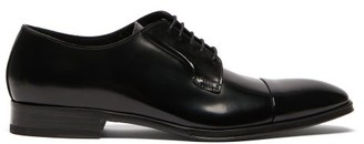 Paul Smith Spencer Patent Leather Derby Shoes - Mens - Black