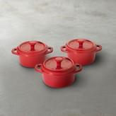 Staub Ceramic Mini Cocotte Set