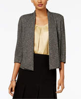 Kasper Metallic Shawl-Collar Jacket