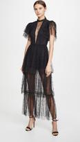Macgraw Flutter Dress