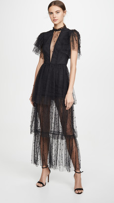 macgraw Flutter Dress