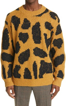 Dries Van Noten Maddox Merino Wool Blend Sweater