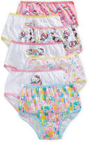 Hello Kitty Cotton Panties, 7-Pack, Little Girls (2-6X)