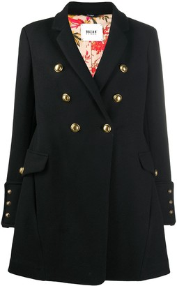 Bazar Deluxe Double-Breasted Military Coat