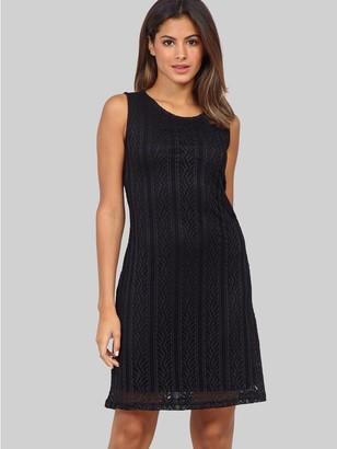 M&Co Izabel aztec lace shift dress