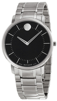 Movado Men's Stainless Steel Quartz Watch, 40mm