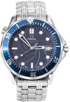 Omega Blue Stainless Steel Seamaster 2226.80.00 Men's Wristwatch 41 mm