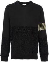Les Benjamins textured sweatshirt