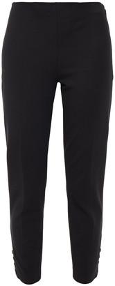 Theory Cropped Cotton-blend Gabardine Slim-leg Pants