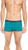 BOSS Overprint Stretch Cotton Boxer Briefs