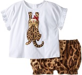 Dolce & Gabbana Zambia T-Shirt/Shorts One-Piece Girl's Suits Sets