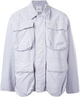 Unused - cargo jacket - men - Cotton/Rayon/Linen/Flax - 3