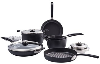Green Pan Levels 11-Piece Hard Anodized Stackable Ceramic Nonstick Cookware Set