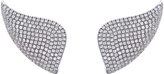 "As 29 AS29 ""Golda (Lobe)"" 18K White Gold Diamond Earrings"