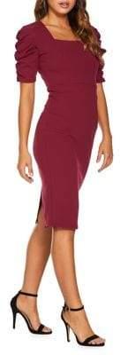 Quiz Scuba Crepe Sheath Dress