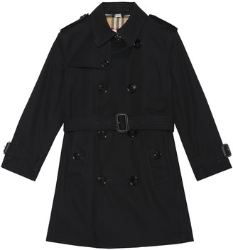 BURBERRY KIDS Mayfair cotton trench coat