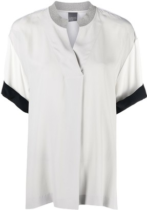 Lorena Antoniazzi Short-Sleeved Blouse