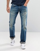 Edwin Ed-71 Rainbow Selvedge Slim Fit Jeans