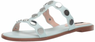 Kensie Women's Manette Slide Sandal Mint 8 M US