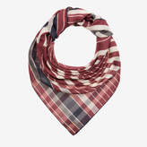 Bally Men's modal blend scarf in multi-coconut