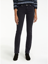 Lee Marion Regular Straight Leg Jeans, Charcoal Powder