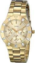 GUESS GUESS? Women's U11058L1 Stainless-Steel Quartz Watch with Dial