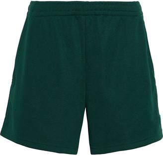 Acne Studios Emanuel Face Appliqued Jersey Shorts