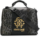 Roberto Cavalli logo travel bag