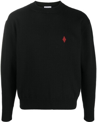 Marcelo Burlon County of Milan Rural Cross Sweater