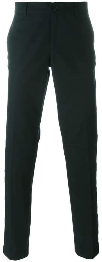 Givenchy contrast side panel trousers