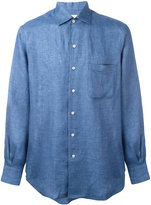 Loro Piana plain shirt - men - Linen/Flax - XL