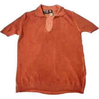 Jean Paul Gaultier \N Orange Cotton Top for Women
